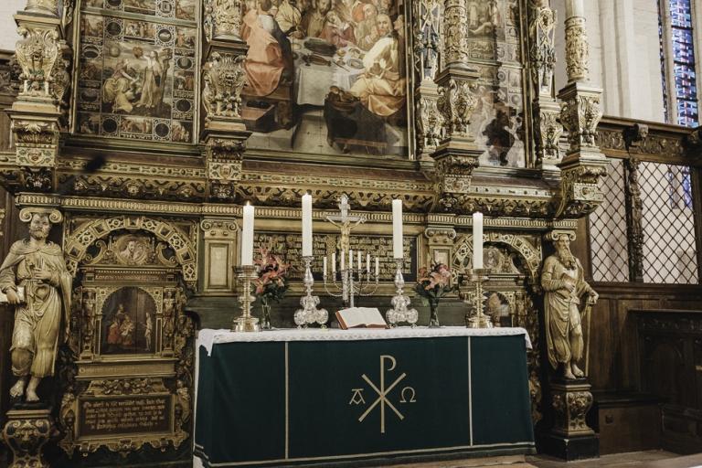 Hochzeitsfotografin Conni Klueter kirchliche Trauung St. Marienkriche Flensburg Kiel, Hamburg, Sylt,